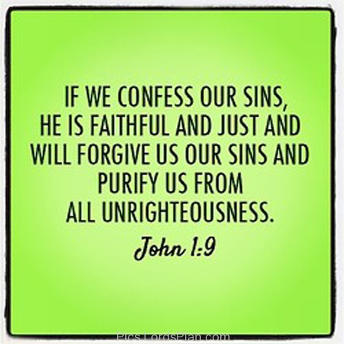 confess your sins to god and man relationship