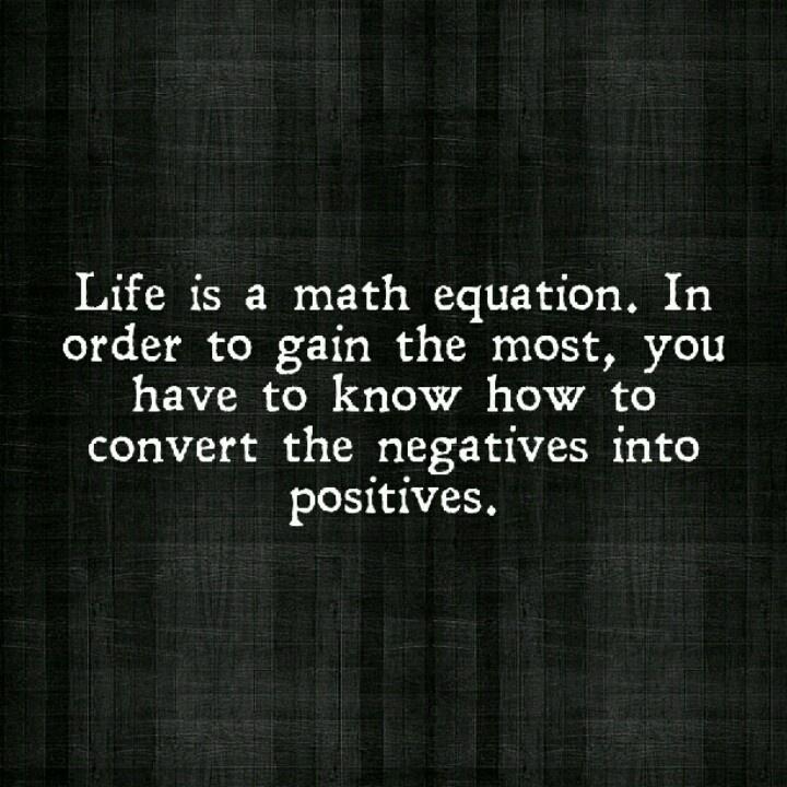 Inspirational Math Quotes: Math Equation Quotes Inspirational. QuotesGram