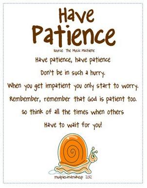 Scripture Quotes Patience Quotesgram