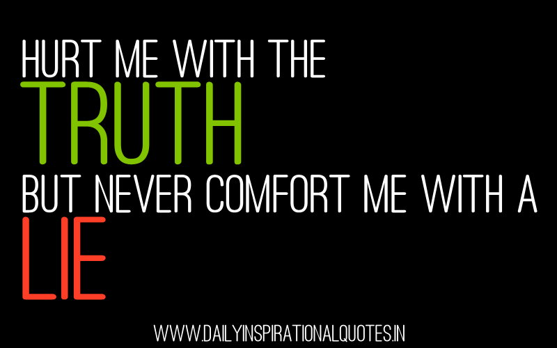 Lie And Truth Quotes. QuotesGram
