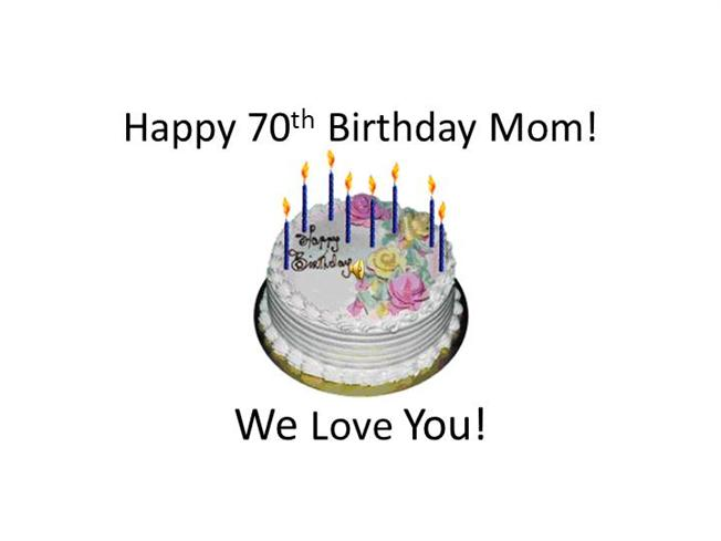 70th Birthday Cake Quotes. QuotesGram