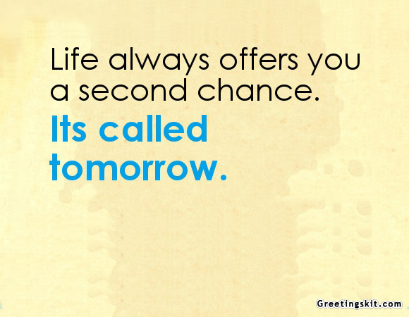 Quotes About Second Chance: Wallpapers About Second Chances Quotes. QuotesGram