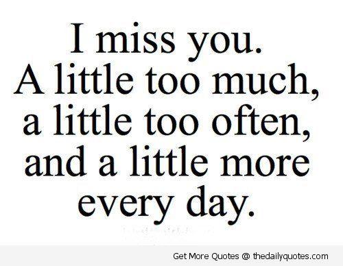 Missing Someone Quotes I Miss You Quotes And Sayings: Missing Family Quotes And Sayings. QuotesGram