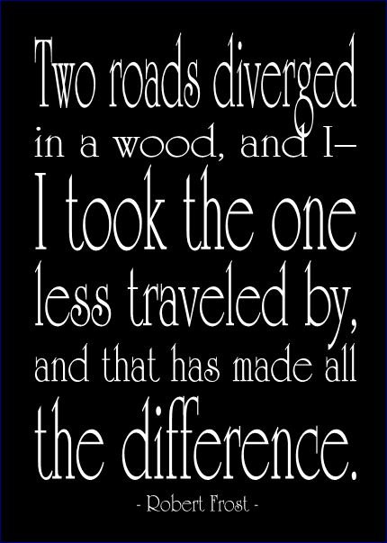 Two Roads Robert Frost Quotes. QuotesGram