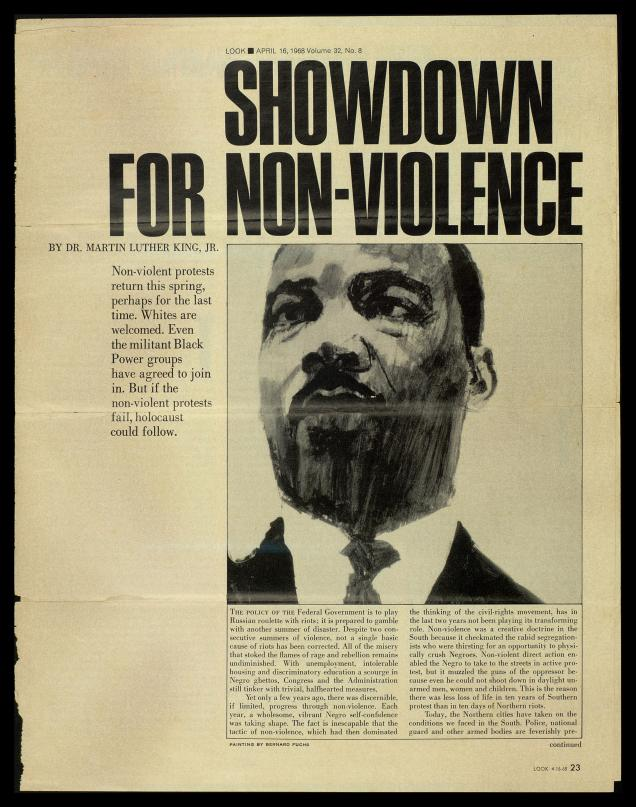 Martin Luther King Jr Non Violence Quotes