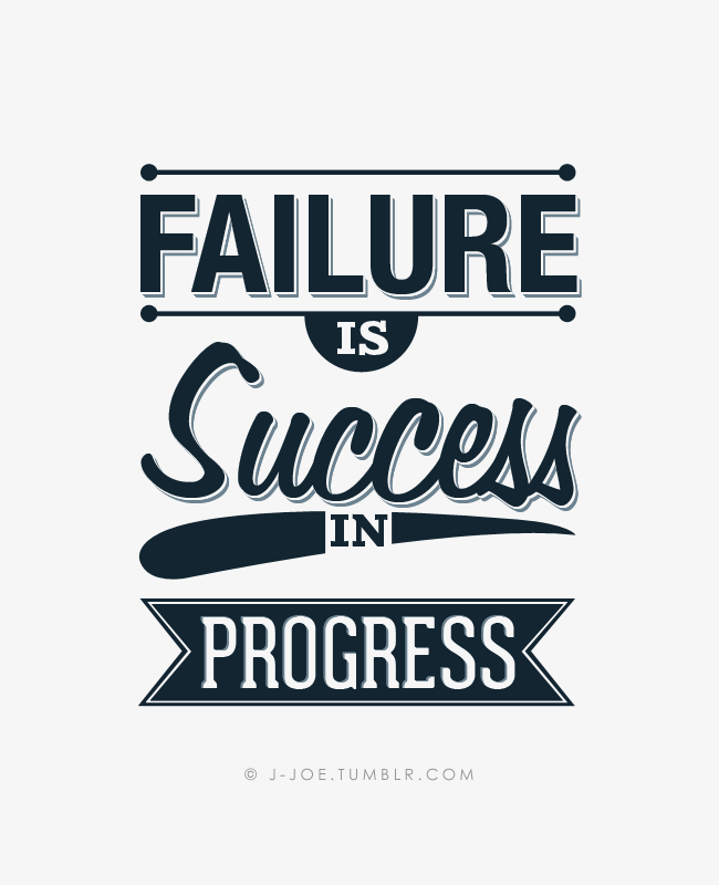 Inspirational Quotes About Failure: Sucess And Failure Quotes. QuotesGram