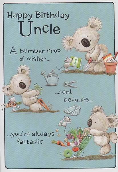 Birthday Wishes For Uncle Health ~ Happy birthday uncle quotes quotesgram