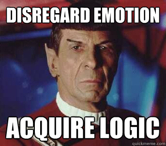 Image result for spock logic quote