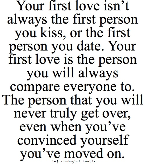 The Meaning Of Love Quotes: First Crush Quotes. QuotesGram