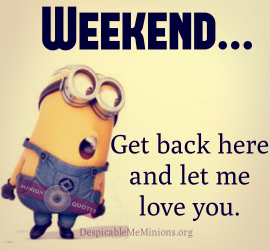 Funny Quotes On Monday: Weekend Is Here Quotes Funny. QuotesGram