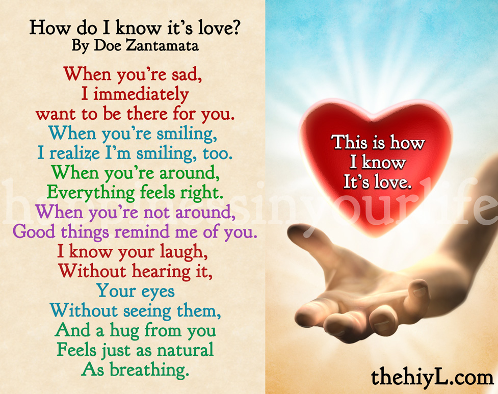 Know You Are Loved Quotes Quotesgram: How You Know Your In Love Quotes. QuotesGram