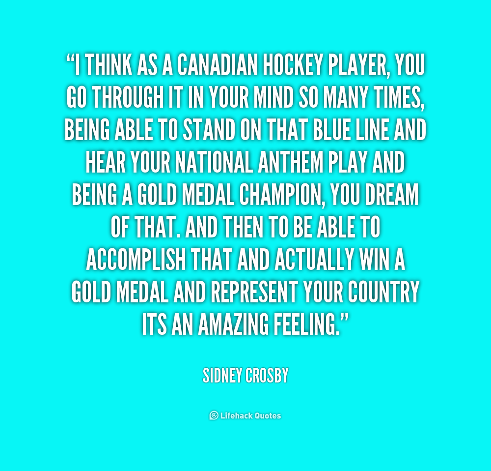 canadian hockey quotes  quotesgram