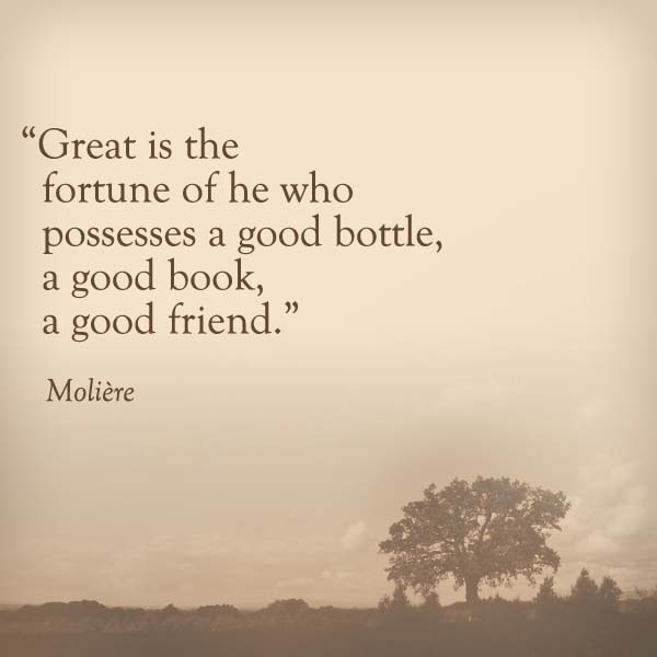 Quotes About Good Friends: Good Friends And Wine Quotes. QuotesGram