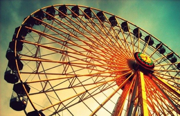 64 Best Ferris Wheels My Fear images | Ferris wheel ... |Quotes About Ferris Wheels