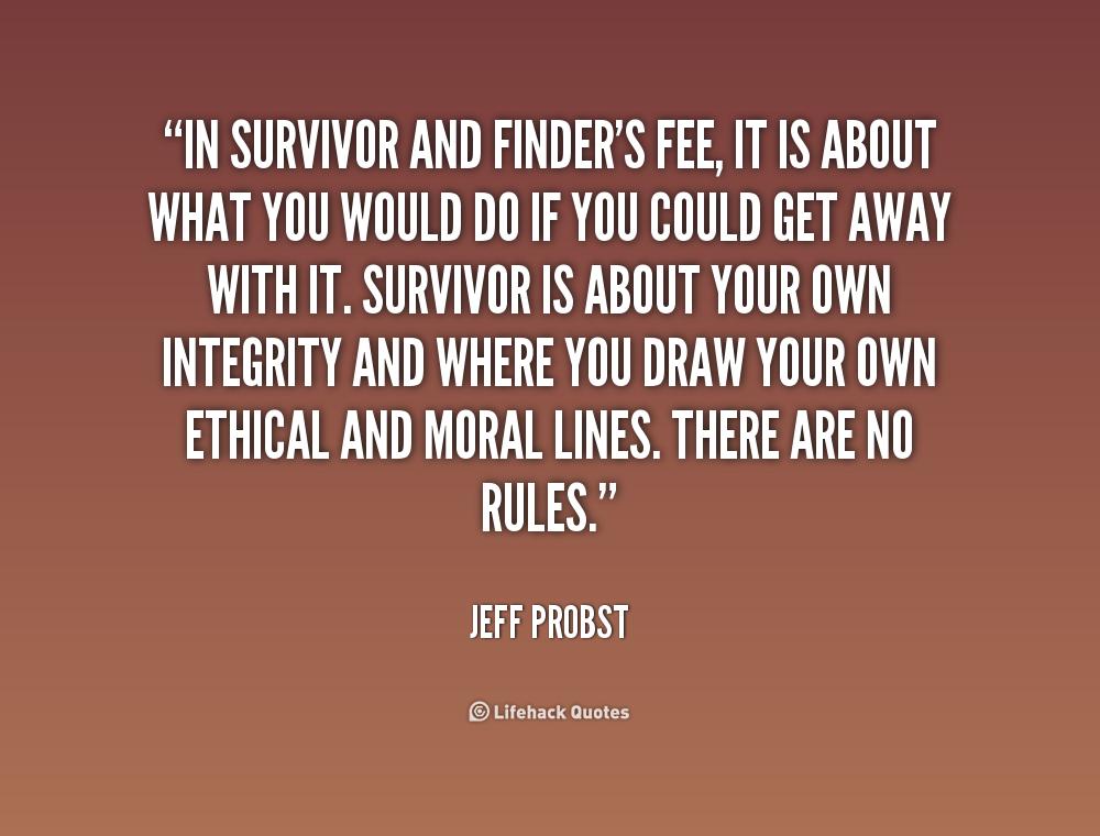 Survivor Quotes. QuotesGram
