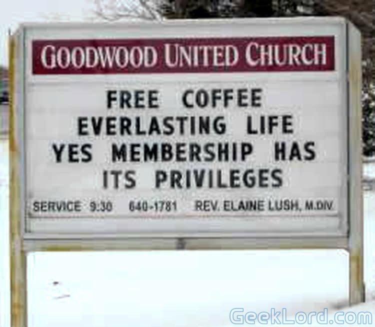 funny church billboard quotes quotesgram