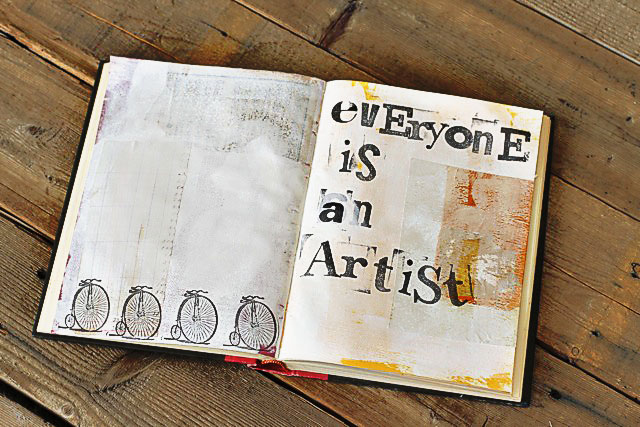 Old Book Cover Quotes : Art journal covers with quotes quotesgram