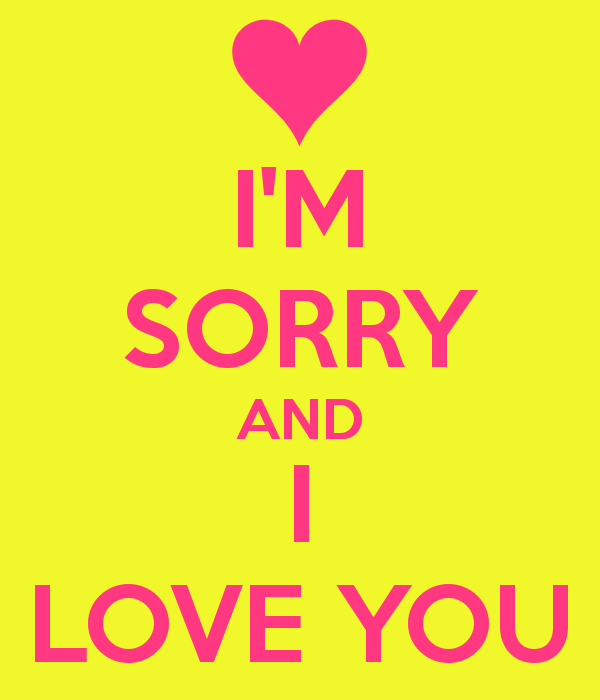 I Am Sorry I Love You Quotes. QuotesGram