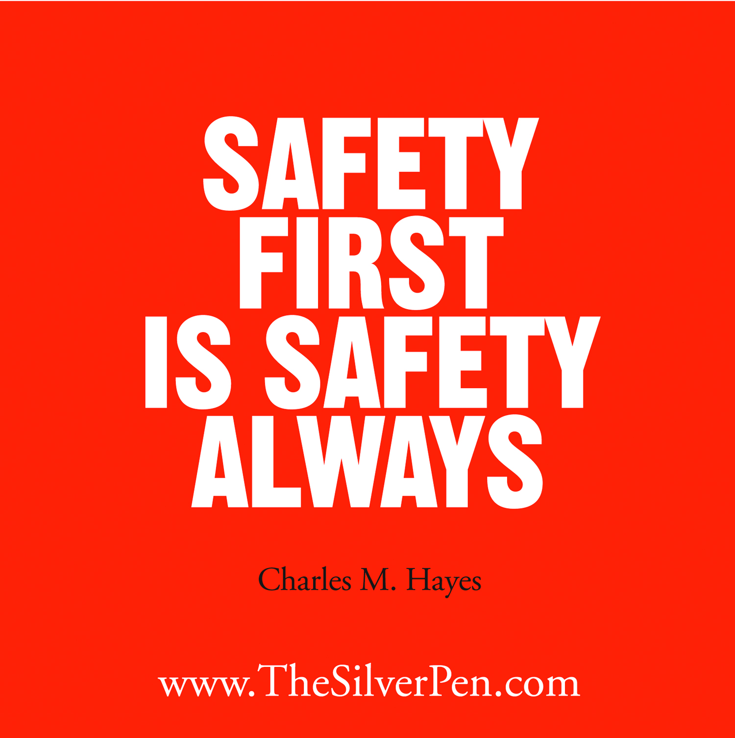 Inspirational Quotes On Pinterest: Inspirational Safety Quotes. QuotesGram