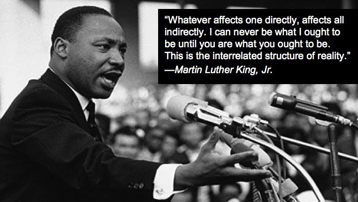 whatever affects one directly affects all indirectly antithesis