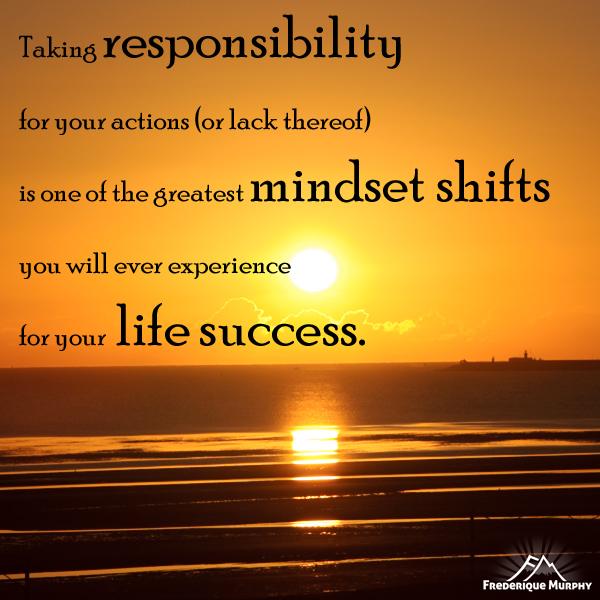Taking on responsibility
