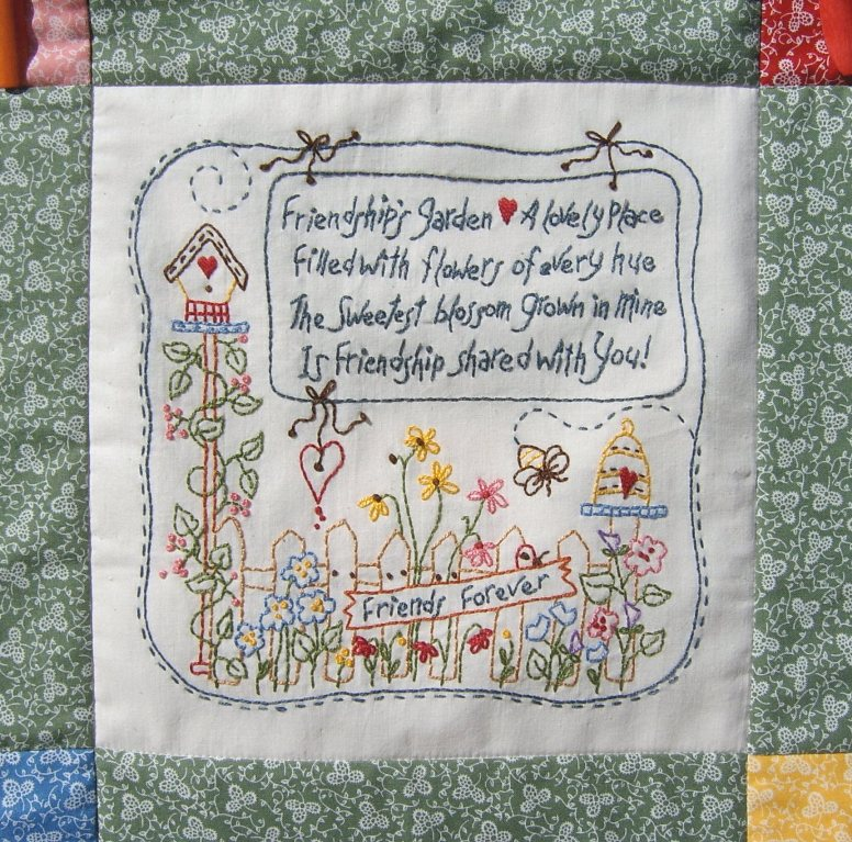Quilt Label Sayings