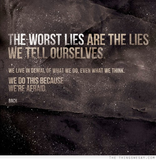 quotes about denial of truth quotesgram