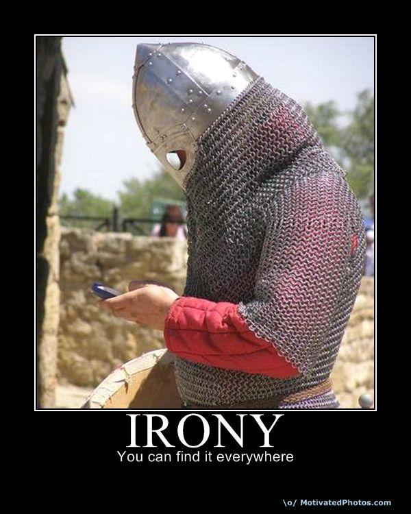 Irony In The Crucible