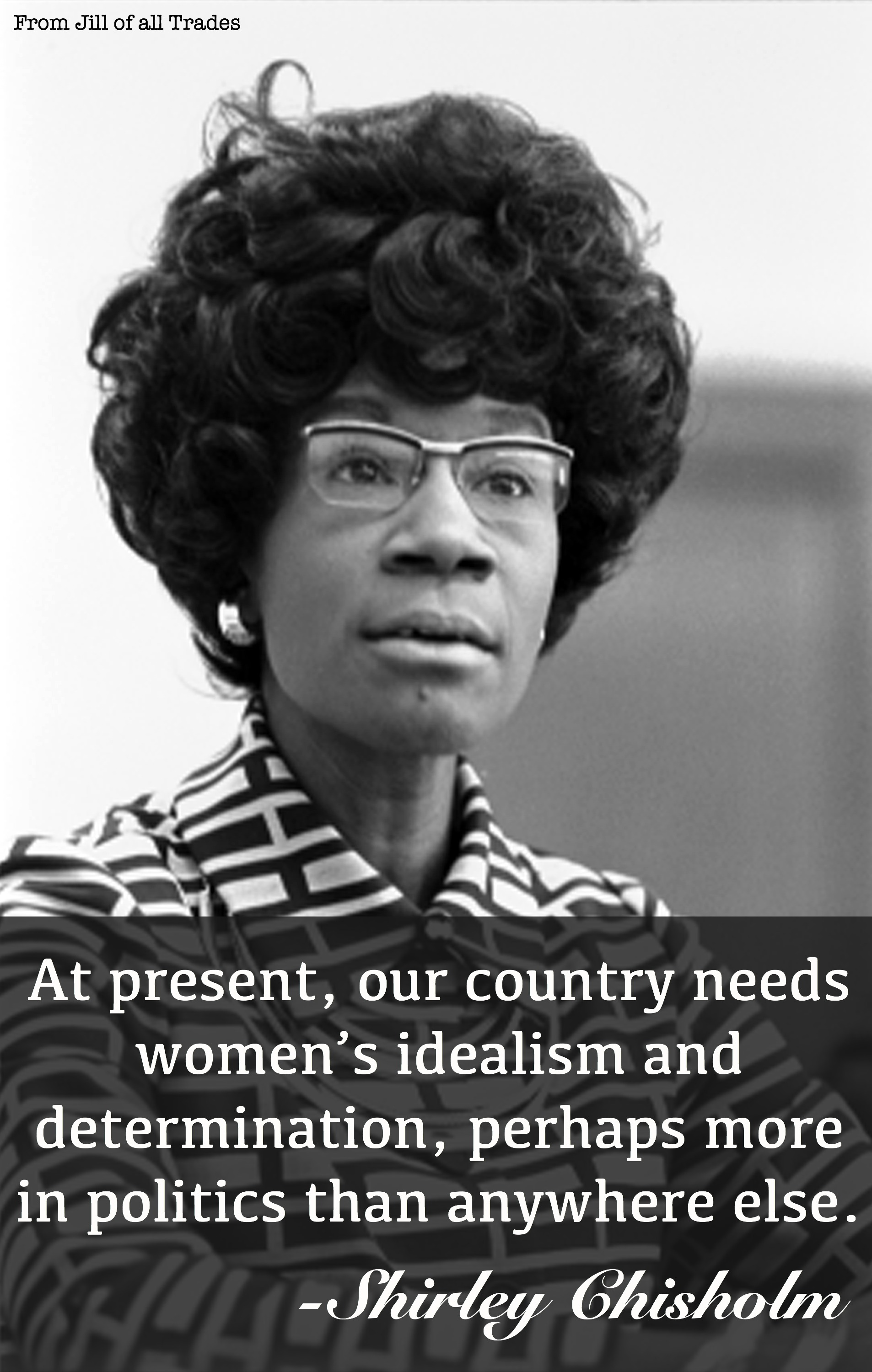 the life of shirley chisholm Shirley chisholm made history as the first black female us representative, elected in 1968 by the voters of new york's 12th congressional.