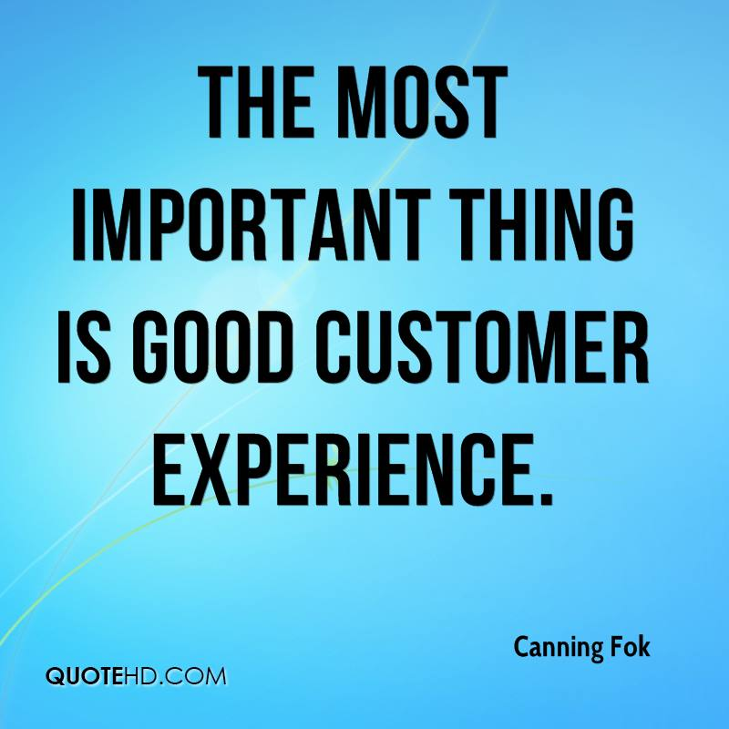 Quotes About Experience: Customer Service Experience Quotes. QuotesGram