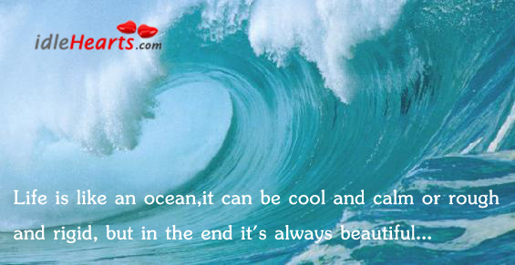 Life Is Like The Ocean Essay - image 2