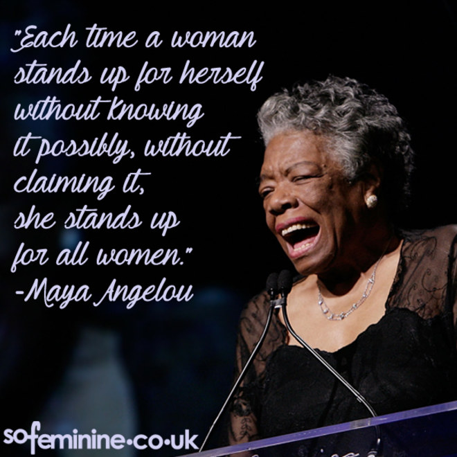 Maya Angelou Quotes: Positive Quotes For Women Empowerment. QuotesGram