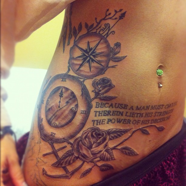 Tattoo Quotes And Poems Quotesgram: Anchor Tattoos With Quotes. QuotesGram