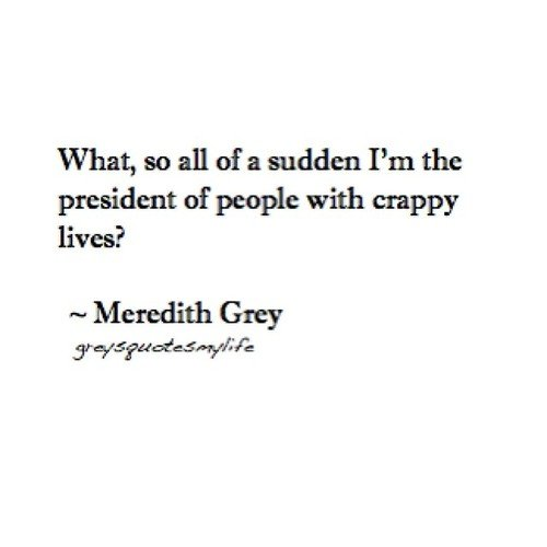 Meredith Grey Quotes On Life. QuotesGram