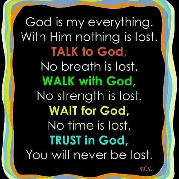 God Is My Everything Quotes Quotesgram