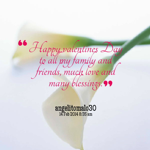 Happy Valentines Day For Friends Quotes: Happy Valentines Day Friends Quotes. QuotesGram