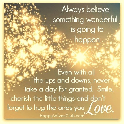 wonderful things in life quotes quotesgram