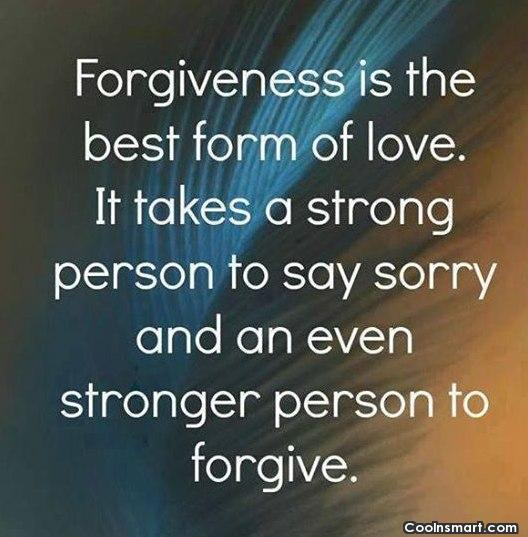 Quotes About Asking For Forgiveness Quotesgram
