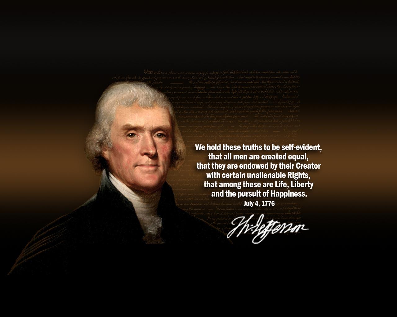 Thomas Jefferson Declaration Quotes Quotesgram