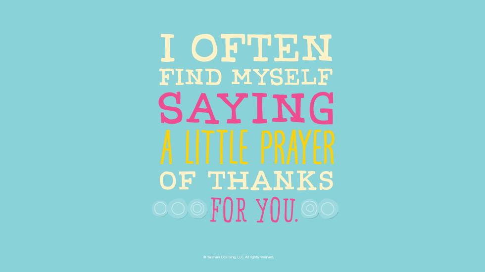 Hallmark Thank You Quotes Quotesgram