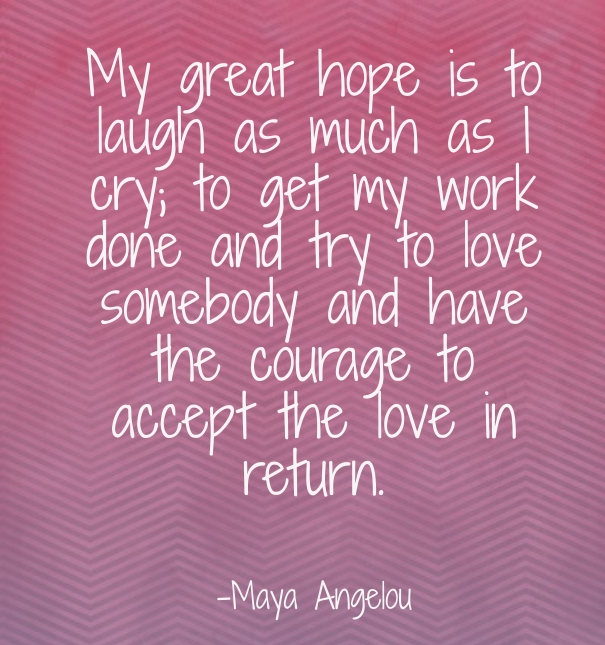Maya Angelou Quotes And Sayings: Maya Angelou Poems And Quotes. QuotesGram