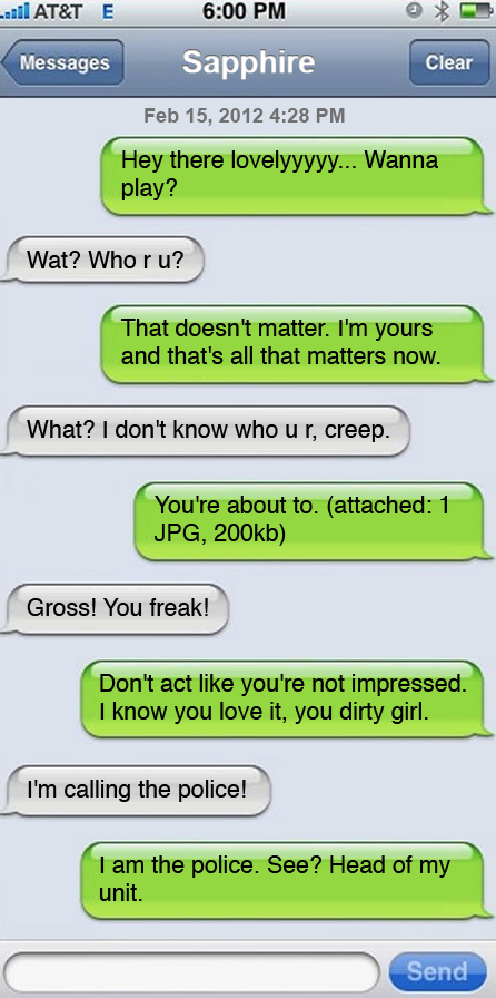 dirty sexting messages to a guy examples