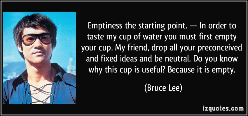 Image result for bruce lee glass of water quote