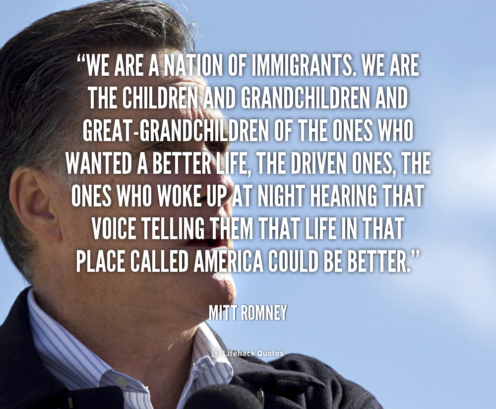 Quotes From Immigrants Quotesgram