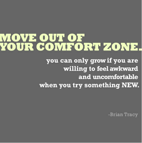 out of your comfort zone essay