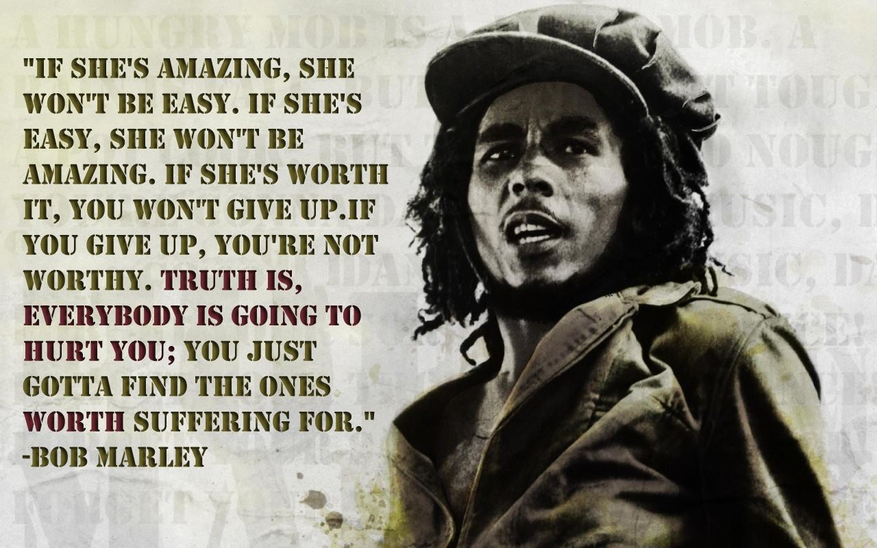 Women Quotes About Love And Bob Marley. QuotesGram