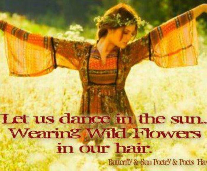 Hippie Girl Quotes. QuotesGram