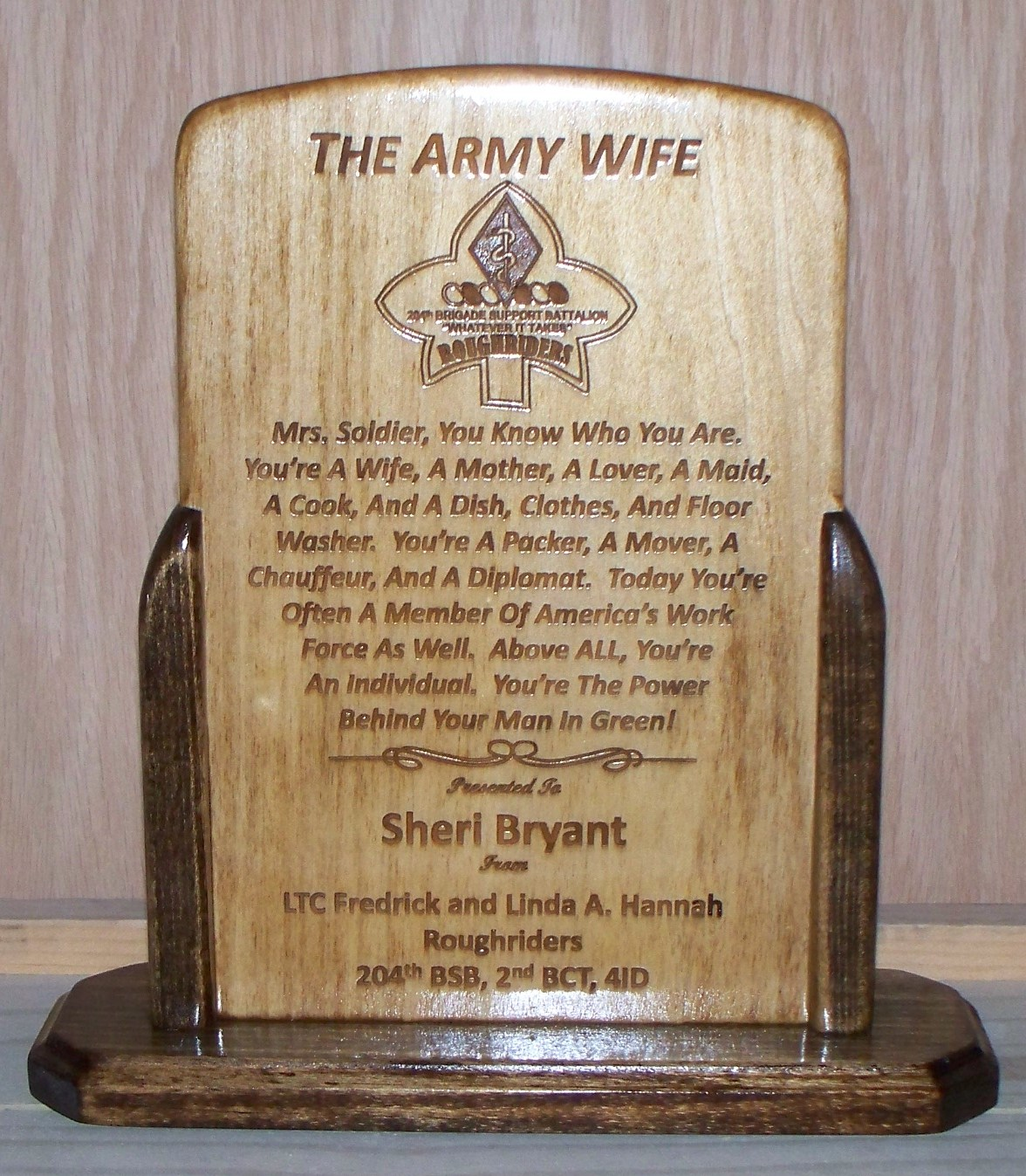 Military Retirement Plaque Quotes From Wife. QuotesGram