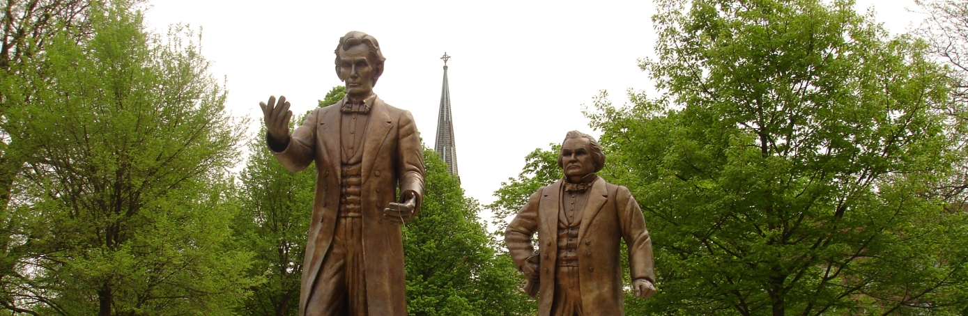 lincoln douglas debates slavery essay An essay or paper on the lincoln-douglas debates in 1858, the republicans of illinois announced that abraham lincoln was their choice for the united states senate.