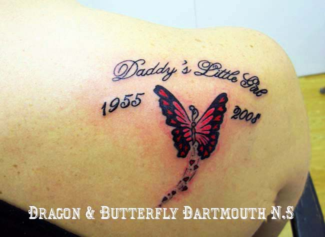 Memorial quotes about butterflies quotesgram for Butterfly memorial tattoos